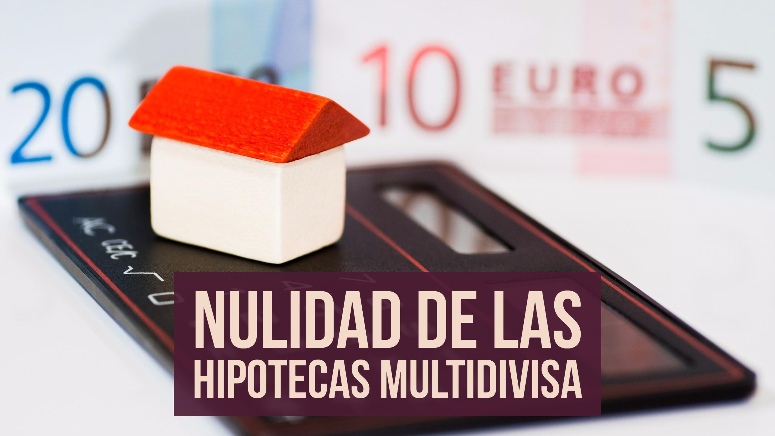 ANALISIS DE LA SENTENCIA DEL TRIBUNAL SUPREMO SOBRE LA HIPOTECA MULTIDIVISA
